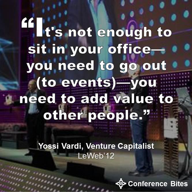 Yossi Vardi - LeWeb